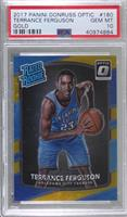 Rated Rookies - Terrance Ferguson [PSA 10 GEM MT] #/10
