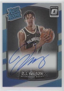 2017-18 Panini Donruss Optic - [Base] - Holo Silver Prizm Signature [Autographed] #184 - Rated Rookies - D.J. Wilson