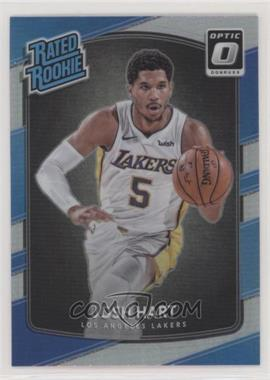 2017-18 Panini Donruss Optic - [Base] - Holo Silver Prizm #171 - Rated Rookies - Josh Hart