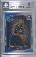 Rated Rookies - Donovan Mitchell [BGS 9 MINT]