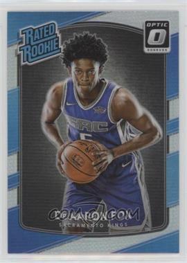 2017-18 Panini Donruss Optic - [Base] - Holo #196 - Rated Rookies - De'Aaron Fox