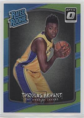 2017-18 Panini Donruss Optic - [Base] - Lime Green #160 - Rated Rookies - Thomas Bryant /175