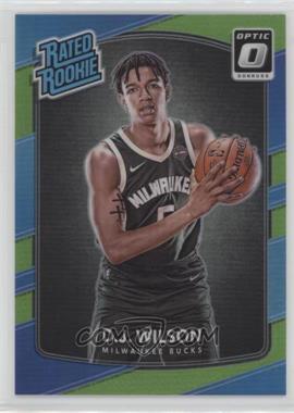 2017-18 Panini Donruss Optic - [Base] - Lime Green #184 - Rated Rookies - D.J. Wilson /175