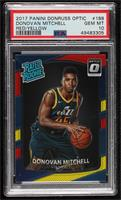Rated Rookies - Donovan Mitchell [PSA 10 GEM MT]