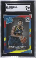 Rated Rookies - Donovan Mitchell [SGC 9 MINT]
