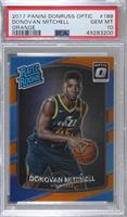 Rated Rookies - Donovan Mitchell [PSA 10 GEM MT] #/199