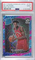 Rated Rookies - OG Anunoby [PSA9MINT] #/79