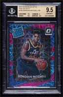 Rated Rookies - Donovan Mitchell [BGS9.5GEMMINT] #/79