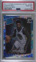 Rated Rookies - Jordan Bell [PSA 10 GEM MT] #/249