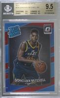 Rated Rookies - Donovan Mitchell [BGS 9.5 GEM MINT] #/99