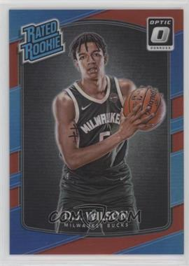 2017-18 Panini Donruss Optic - [Base] - Red #184 - Rated Rookies - D.J. Wilson /99