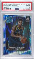 Rated Rookies - Donovan Mitchell [PSA 9 MINT]