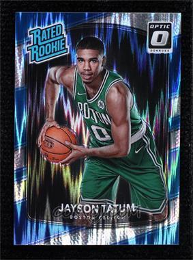 2017-18 Panini Donruss Optic - [Base] - Shock #198 - Rated Rookies - Jayson Tatum
