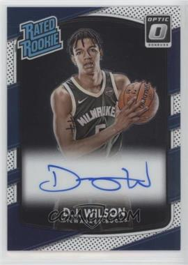 2017-18 Panini Donruss Optic - [Base] - Signatures [Autographed] #184 - Rated Rookies - D.J. Wilson