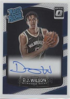 2017-18 Panini Donruss Optic - [Base] - Signatures [Autographed] #184 - Rated Rookies - D.J. Wilson