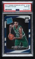 Rated Rookies - Jayson Tatum [PSA10GEMMT]