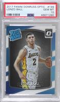 Rated Rookies - Lonzo Ball [PSA10GEMMT]