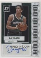 D.J. Wilson #/49