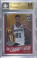 Tim Duncan [BGS 9.5 GEM MINT] #/99
