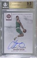 Rookie Notable Signatures - Jayson Tatum /25 [BGS 9.5 GEM MINT]