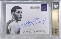 Rookie Endorsements - Lonzo Ball [BGS9.5GEMMINT] #/99