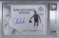 Rookie Scripted Signatures - Derrick White [BGS9MINT] #/99