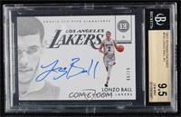 Rookie Scripted Signatures - Lonzo Ball [BGS9.5GEMMINT] #/99