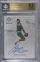 Rookie Notable Signatures - Jayson Tatum [BGS 9.5 GEM MINT] #/99