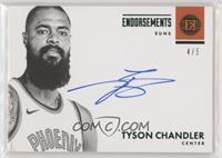 Tyson Chandler #/5
