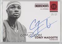 Corey Maggette #/25