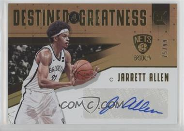 2017-18 Panini Essentials - Destined for Greatness Signatures #DG-JAL - Jarrett Allen /99