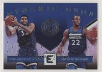Karl-Anthony Towns, Andrew Wiggins