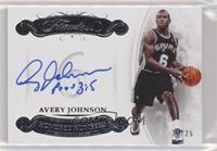 Avery Johnson #22/25