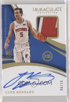 Rookie Patch Autographs - Luke Kennard /10