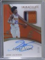 Rookie Patch Autographs - Josh Jackson #/20