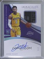 Rookie Patch Autographs - Josh Hart #/3