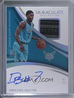 Rookie Patch Autographs - Dwayne Bacon /3