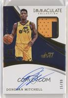 Rookie Patch Autographs - Donovan Mitchell #/99