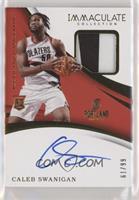 Rookie Patch Autographs - Caleb Swanigan #/99