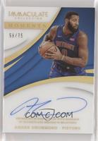 Andre Drummond [Noted] #/75