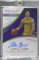 Lonzo Ball [EX to NM] #/75