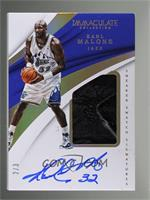Karl Malone [EX to NM] #/3