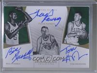 Bill Russell, Frank Ramsey, Tom Heinsohn /25