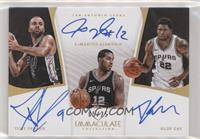 LaMarcus Aldridge, Rudy Gay, Tony Parker /25