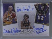 Gail Goodrich, Jamaal Wilkes, Kareem Abdul-Jabbar #3/25