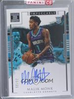 Rookie Autographs - Malik Monk [Uncirculated] #/99