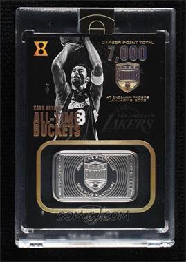 2017-18 Panini Kobe Eminence - All-Time Buckets - 1 Troy Ounce Platinum #9 - Kobe Bryant /1 [Uncirculated]