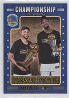 Kevin Durant, Stephen Curry /99