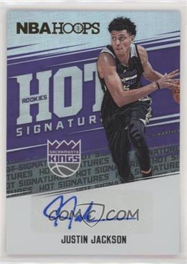 2017-18 Panini NBA Hoops - Hot Signatures Rookies #HSR-JJ - Justin Jackson