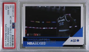 2017-18 Panini NBA Hoops - Shaquille O'Neal NBA 2K #23 - Shaquille O'Neal [PSA10GEMMT]